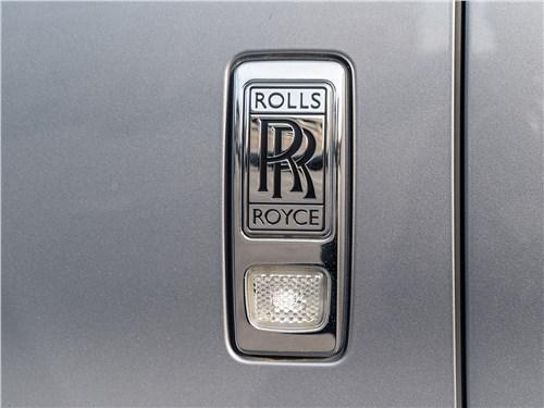 Rolls-Royce Cullinan 2019 шильдик