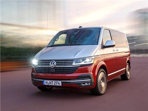 В России отправят на сервис новые Volkswagen Transporter и Multivan