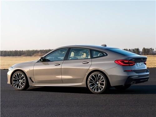 Спутники лета (Обзор российского рынка открытых автомобилей - 2006) 6 series - BMW 6-Series Gran Turismo 2021 вид сбоку сзади