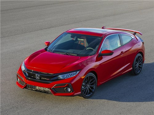 Новость про Honda Civic - Honda Civic Si Coupe (2020)