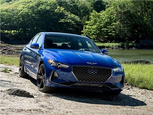 Обновлённый седан Genesis G70 не получит новых моторов