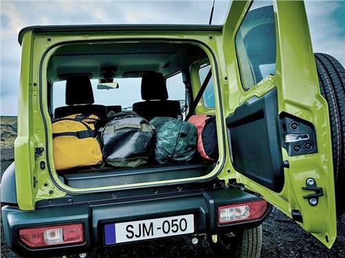 Suzuki Jimny превратили в грузовик для возвращения в Европу
