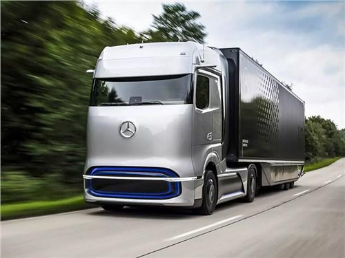 Mercedes-Benz представил водородный грузовик