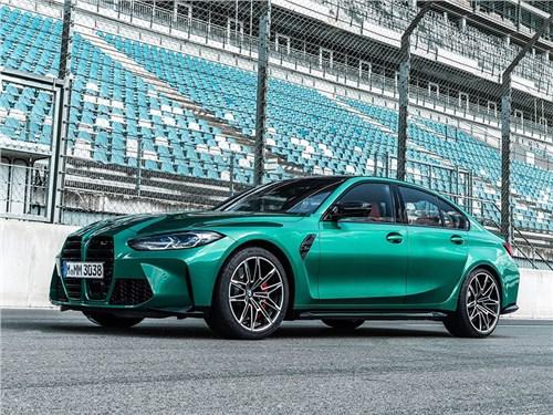 Новость про BMW - BMW M3 Sedan Competition (2021)