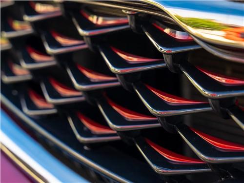 Kia Cerato 2019 решетка радиатора