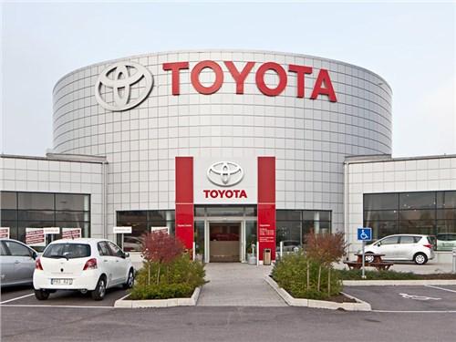 Беспилотники Toyota будут сами изъявлять желание о помывке