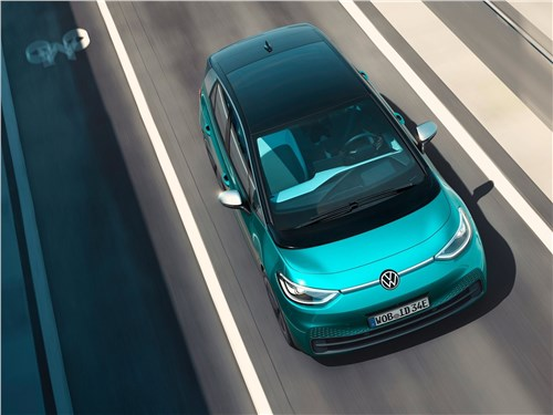 Volkswagen ID.3 - Volkswagen ID.3 (2020) вид сверху