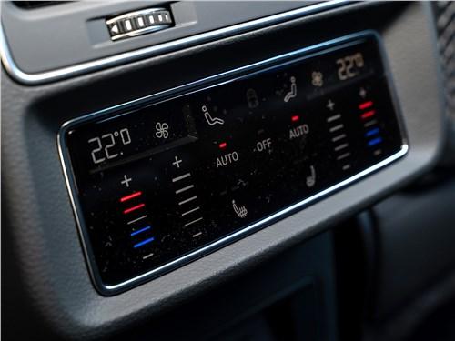 Audi Q7 2020 управление климатом