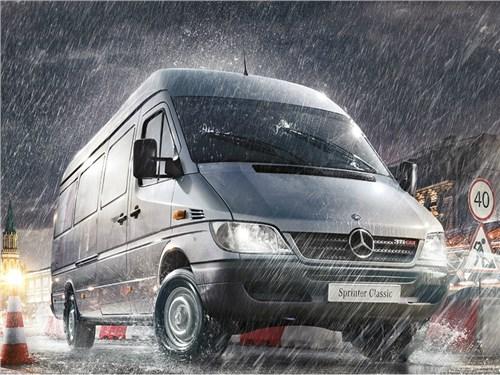 Mercedes-Benz отзывает свои коммерческие фургоны в России