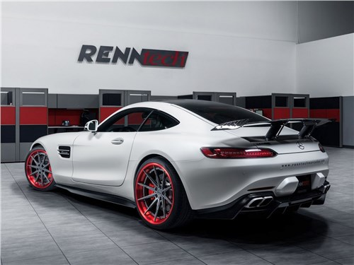 RENNtech | Mercedes-AMG GT S вид сзади