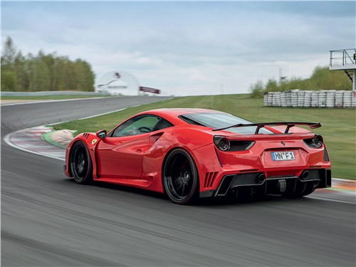 Novitec | Ferrari 488 вид сзади