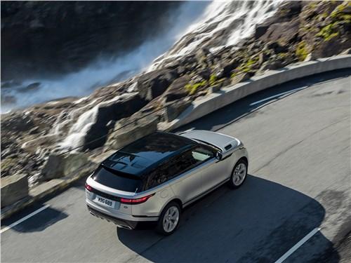 Land Rover Range Rover Velar 2018 вид сверху