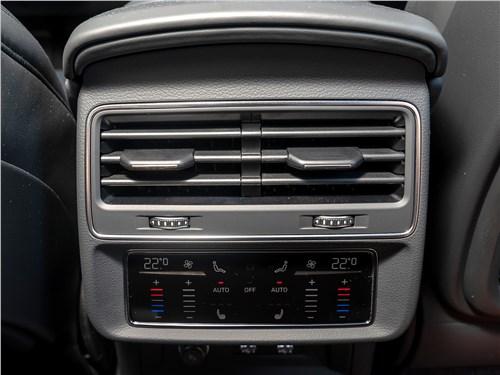 Audi Q7 2020 печка для второго ряда