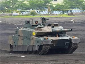 Японский ОБТ Type 10 весом в 48 тонн 1200 л.с с вариаторной трансмиссией