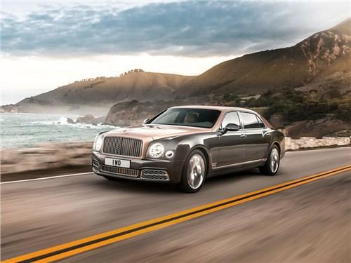 Новость про Bentley Mulsanne - Самый дорогой автомобиль Bentley добрался до российского рынка