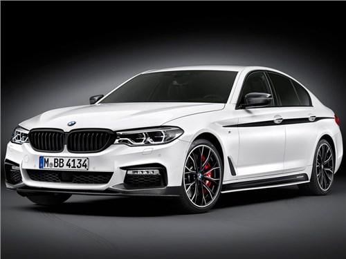 BMW выпустила линейку опций M Performance для 5-Series