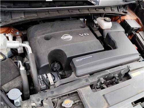 Предпросмотр nissan murano 2016 двигатель