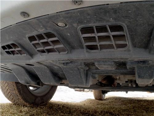 Chery Tiggo 5 2016 защита двигателя