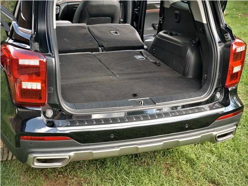 Предпросмотр gac gs8 2020 багажное отделение