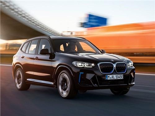 Новость про BMW - BMW iX3 (2022)