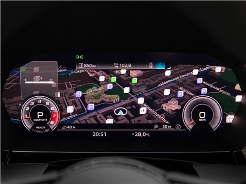 Audi A3 (2021) приборная панель