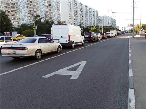 В Москве появится больше выделенных полос
