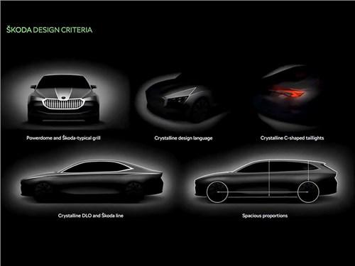 Появилась информация о новом Skoda Superb
