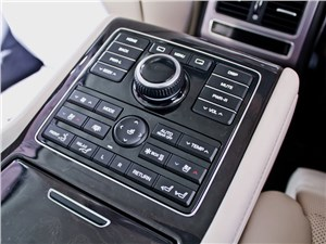 Hyundai Equus 2013 центральная консоль