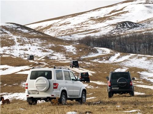 UAZ Patriot 2016 в горах Армении