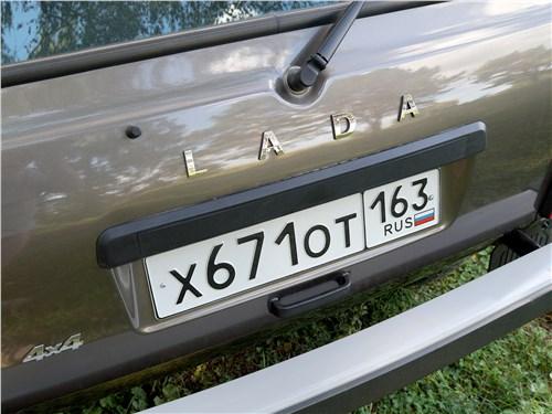 Lada 4x4 2017 дверь багажника