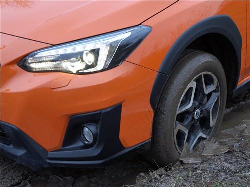 Subaru XV 2018 вид спереди