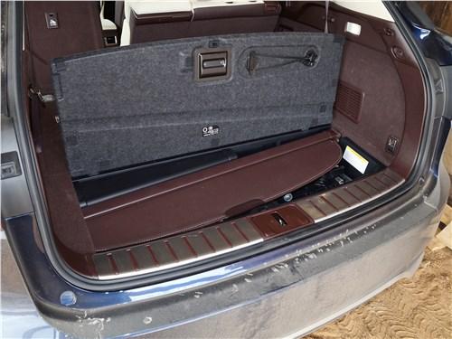 Предпросмотр lexus rx 350l 2018 багажное отделение