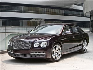 Новость про Bentley Flying Spur - Bentley Continental Flying Spur 2013 вид спереди