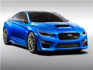 Subaru представит серийный вариант WRX Concept уже в ноябре