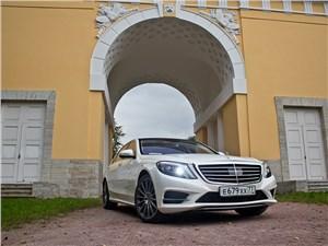 Mercedes-Benz S-Klasse 2013 вид спереди