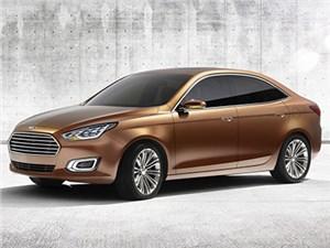 Новое поколение Ford Escort дебютирует в Пекине уже в апреле