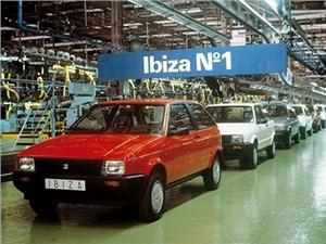 Seat Ibiza отмечает 30-летний юбилей