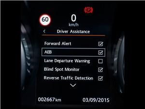 Предпросмотр land rover range rover evoque 2016 монитор