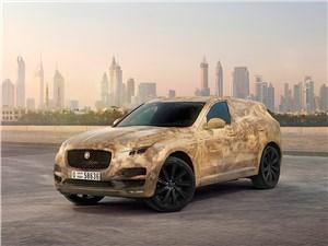 Предпросмотр jaguar f-pace 2016 вид спереди сбоку