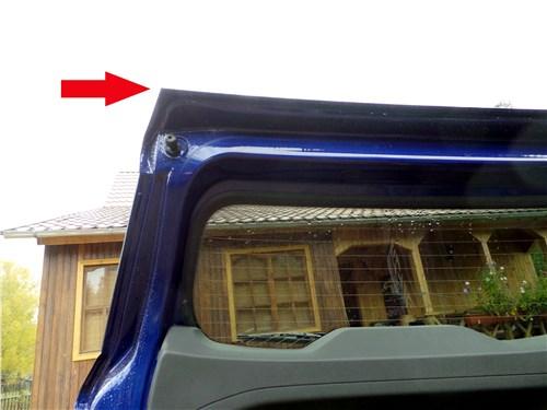 Ford EcoSport 2013 дверь багажного отделения