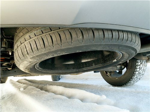 Предпросмотр hyundai santa fe 2015 запасное колесо