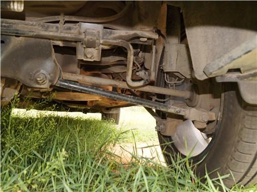 Renault Kaptur 2016 задняя подвеска
