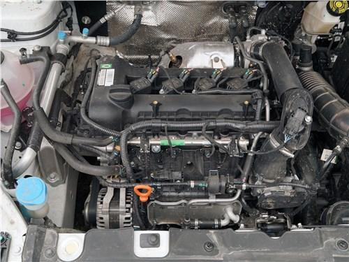 Chery Tiggo 4 2020 моторный отсек