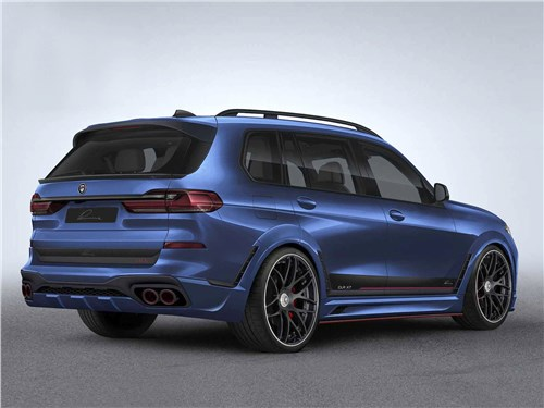 Lumma Design | BMW X7 вид сзади