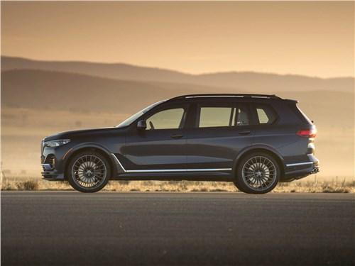 Alpina | BMW X7 вид сбоку
