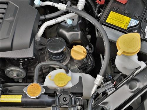 Subaru Forester Sport (2019) моторный отсек