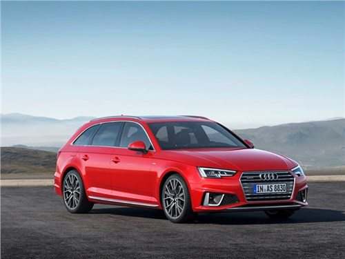Новость про Audi A4 - Audi A4 Avant