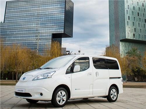 Nissan обновил электрический e-NV200