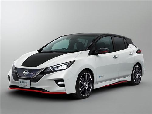 Nissan рассекретил Leaf от ателье Nismo