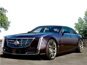 Новый флагманский седан Cadillac появится уже в начале 2015 года
